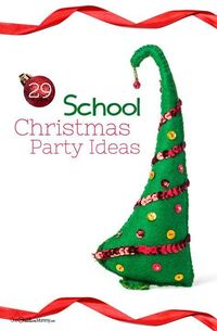 Make planning your classroom party a snap with over 29 awesome School Christmas Party ideas collected in one place! Great crafts, games, and treat ideas.