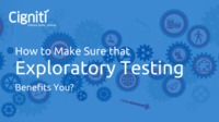 Learn about the few best practices during exploratory testing that have to follow to give a structure and define success.