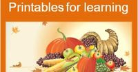 Over 140 pages of free Thanksgiving printables, worksheets and fun learning activities for the holiday season for preschool, kindergarten, school age kids