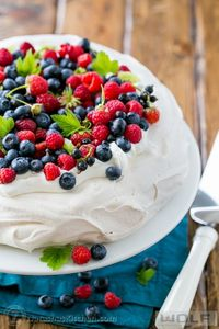 A step-by-step guide to master the pavlova; a simple and beautiful special occasion cake from