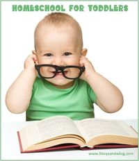 Homeschool for Toddlers