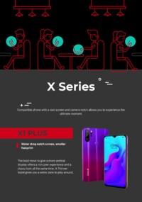 X SERIES.pnOale Mobile with the most incredible features and in the most affordable prices in Pakistan. Attractive color options, Water drop notch screen and powerful battery. Every product of the series is fantastic.