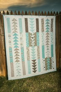 Blue Skies quilt pattern by Lella Boutique