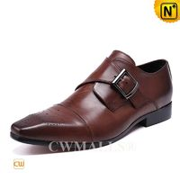CWMALLS® Auckland Men Leather Monk Strap Loafers CW708123 [Patented Product, Global Free Shipping]