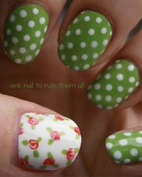 We share some cool nail art designs and tips on how to get the look at home.