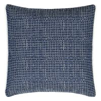 Designers Guild Outdoor Pompano Indigo Decorative Pillow $90.00