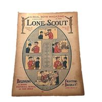 Vintage Newspaper, Lone Scout, The Real Boys Magazine, August 30 1919, Photos by PET, Beginning a Dandy Football Serial Mom Teen $29.99