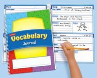 Vocabulary Journal $3.49 each. Pinning to remember to make these on my own! Use binding machine and copies!