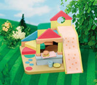Sylvanian Families - Nursery Slide Set A colourful slide and activity play area for all the children at Primrose Nursery. (Figures not http://www.comparestoreprices.co.uk//sylvanian-families--nursery-slide-set.asp