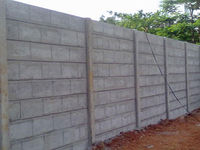 concrete-compound-walljpg.jpg Styleearth manufactures concrete compound walls of different dimensions and designs. The walls are made with concrete in accordance with guidelines and are additionally examined against different quality parameters. Because ...