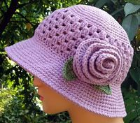Crochet for Cancer - Free Pattern ... Showing Love For Others One Stitch At A Time. Make a few and donate them, it's a very good thing. (I make mine without the flower.)