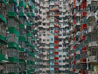 architectural density in hong kong michael wolf (8)