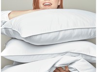 White Goose Down Pillows by Peacock Alley $180.00