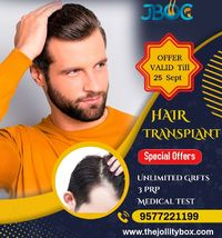 Hair Transplant is the best option if you are suffering from baldness.