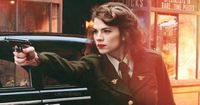 Caps Love Interest British Beauty Peggy Carter