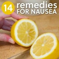 14 Soothing Remedies for Nausea, Upset Stomach & Morning Sickness