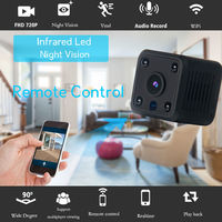 ANIWAY 720P WiFi CCTV Night Vision Audio Record SD Card Slot Video IP Camera For Smart Home