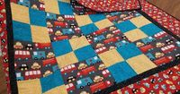 My Patchwork Quilt: ANOTHER BABY QUILT FOR BECKETT