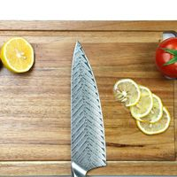 Blank blade DIY Chef Knife Laminated Steel Knife Making Kitchen Knife 8 inch $45.80