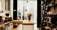 San Francisco architect Christi Azevedo built her kitchen very affordably, thanks to a sanded acrylic sheet used as a countertop, flooring made of cheap HardiPanel exterior siding (just $1 per square foot), Ikea pendant lights, and a reconditioned...