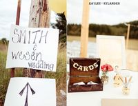 THIS IS THE WEDDING THAT I WANT! Love the burlap. I NEED a bonfire. I need a dance floor.