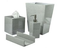 Pacific Fine Silver Bath Accessories by Mike + Ally $355.00