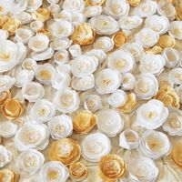 handmade paper flowers, great prices if you don't want to make your own