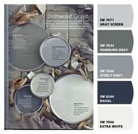 "Chip It! by Sherwin-Williams �€"" Navycakes84 Steely Gray for the walls in Kitchen Naval for Hallway"