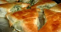 Make and share this Greek Spinach Triangles recipe from Food.com.
