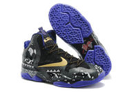 Nike Air LeBron James 11 XI Gold Purple with Anthracite Mens Cheap Training Shoe