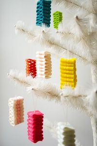 Molly's Sketchbook: Ribbon Candy FeltOrnaments - The Purl Bee