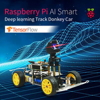XIAO R Raspberry 3B+ DIY Smart RC Robot Car Patrol App Control Educational Kit With HD Camera