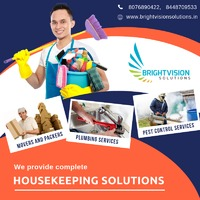 We provide complete Housekeeping Solutions for all your needs. It includes: - Movers and Packers - Plumbing Services - Electrical services  - Pest Control Services - Painting Services and many more.  For further details please free to contact us a...