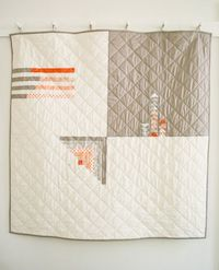 Mollys Sketchbook: Simple Four Square Quilt - The Purl Bee - Knitting Crochet Sewing Embroidery Crafts Patterns and Ideas!