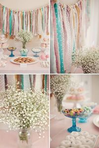 Love the ribbon garland. There is also a cute photo tree on this blog post.