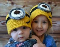 Free Minion Hat Crochet Pattern