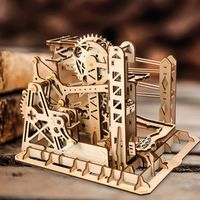3D Assembly Wooden Puzzle,Mechanical Gears Set,Brain Teaser,Educational Game $79.70