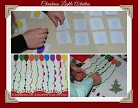 Christmas Lights are fascinating for preschoolers! Come capture the excitement with seasonal activities to promote playful learning!