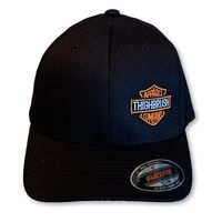 "THIGHBRUSH® BIKERS - ""THIGHBRUSH APPAREL COMPANY�€ - FlexFit Hat - Black"
