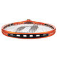 PRINCE O3 Speedport Orange Demo Tennis Racket () The playability of this racket can be customised to match the feel of the racket with their own playing style. This racket features two sets of grommets, one with Speedports, the other with String H...