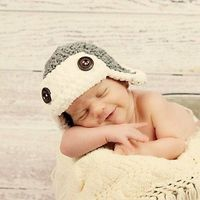 READY TO SHIP Newborn Aviator Hat You pick the color by tinab76, $15.00