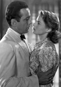 CASABLANCA (1942) Combining wartime intrigue with an ill-fated love affair, Casablanca is a copper-bottom classic. Bogart is world-weary bar owner Rick and an incandescent Ingrid Bergman plays the woman who walks back into his life. Watch it for: ...