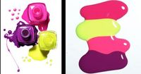 nice colors.....melon mambo, dont think there is an SU for the green/yellow,rose red, perfect plum?
