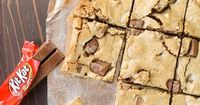 These One Bowl Candy Bar Blondies are a blank canvas just waiting for your favorite Halloween candy.