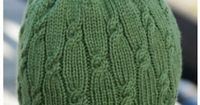 Ravelry: Knotted Rib Hat pattern by Cheryl Beckerich {free}