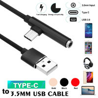 Bakeey 2 in 1 Type C 3.5mm Jack Audio AUX Fast Charging Data Cable 1M For Oneplus 6 Xiaomi Mi8 S9