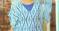 nice lacy tunic and easy to make! free crochet pattern