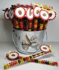 Thanksgiving DIY crafts ~great favors for thanksgiving guests!~