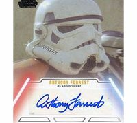 Topps Star Wars Jedi Legacy Autograph Card Anthony Forrest As Sandtrooper Star Wars Jedi Legacy Trading Cards . Card As Pictured And Listed. (Barcode EAN = 5053075237166). http://www.comparestoreprices.co.uk//topps-star-wars-jedi-legacy-autograph-...
