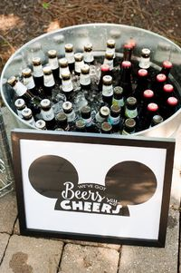 Planning a party for your most favorite mouse? Don't miss this Kara's Party Ideas featured Steamboat Willie Classic Mickey Mouse Birthday Party!